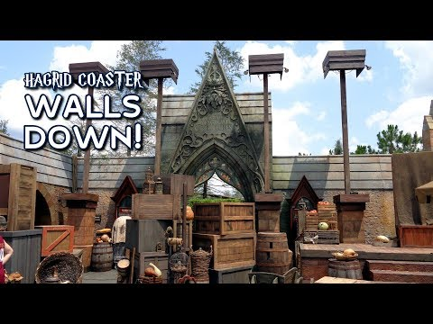 Walls Down at Hagrid's Magical Creatures Motorbike Adventure