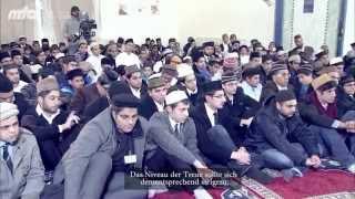 2013-01-19 Weltweites Oberhaupt der Muslime in Deutschland im Dezember 2012