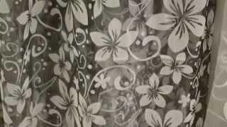Коллекция тюль Органза. 4318. Декор - мелкий цветок. Основа серая, узор белый.(http://rodus.com.ua/ http://rodus.com.ua/tyul/4406/tyul-70-detail.html Салон-магазин штор, гардин и ламбрекенов Изумруд, предлагает шторные..., 2015-01-20T08:04:48.000Z)