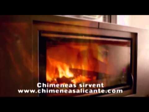 Chimeneas modernas para hogares en alicante valencia - Chimeneas en alicante ...