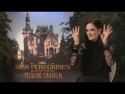 Miss Peregrine's Eva Green was intimidated by the film's children