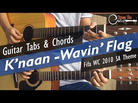 Wavin' Flag | K'naan - Guitar Tabs (Lead) & Chords (Lesson/Tutorial) Cover