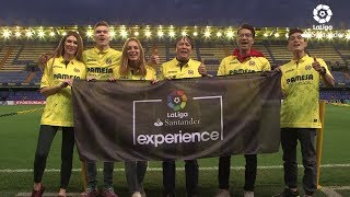 Победители конкурса каналов Футбол 1/Футбол 2 посетили матч ЛаЛиги