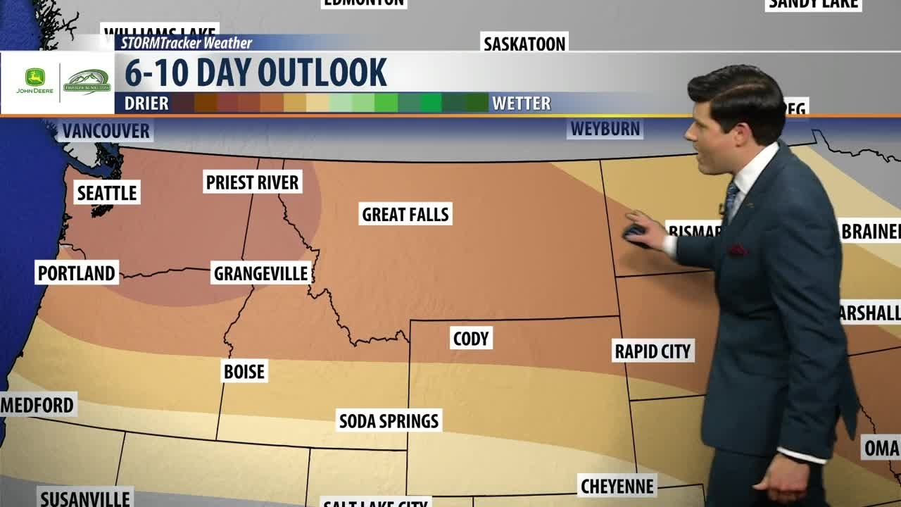Montana Ag Network Weather (10/11) Battle of the pressure systems