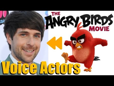 """""""The Angry Birds Movie"""" Voice Actors and Characters"""