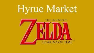 HYRUE MARKET SYMPHONY - Piano Cover - The Legend of Zelda -  Free Sheet Music Download