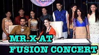 mr x at the fusion concert on kaisi yeh yaariyan