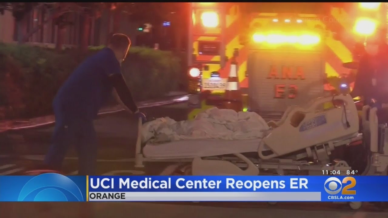 Dozens Of ER Patients Evacuated After Scare At UCI Medical Center In Orange