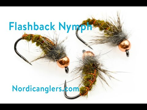 Trout Nymph Fly Tying Lesson, Step By Step: The Flashback Nymph