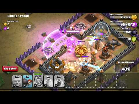 Clash of clans: How to beat rolling terror.