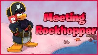 Club Penguin Rewritten: Meeting Rockhopper