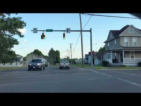 21st Street Newark, Ohio & down Hebron Road in Heath, Ohio