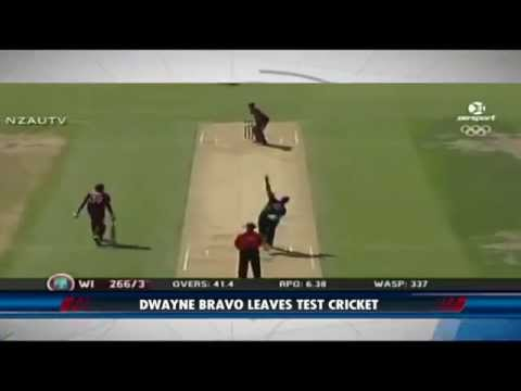 Dwayne Bravo retires from test cricket & more! | Digicel SportsMax Headlines | Feb 2, 2015