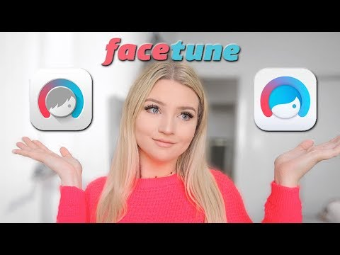 FACETUNE Vs FACETUNE 2 FOR INSTAGRAM PHOTOS! ♡ Tobie Jean