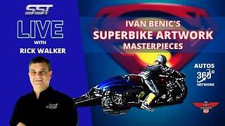 SUPERMAN & HULK SUPERBIKES: ( IVAN BENIC'S AIRBRUSH MASTERPIECES )