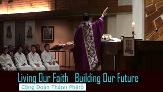 April 8 Campaign Kick-Off Celebration Our Faith Building Our Future Saint Cecilia Tustin California