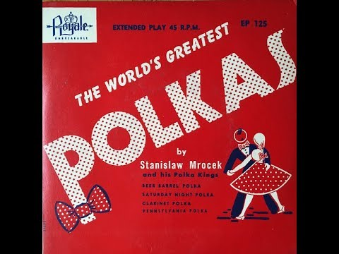 Stanislaw Mrocek & His Polka Kings early 1950s Extended Play 45 RPM Record EP