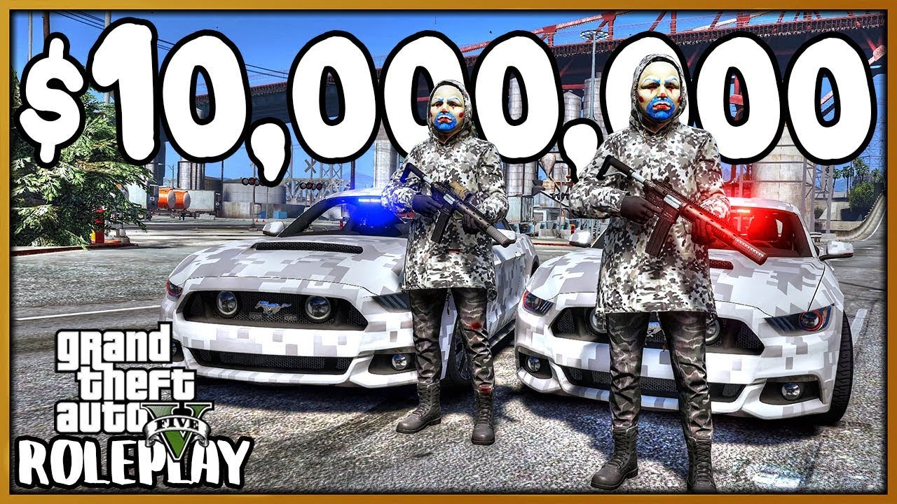 Download GTA 5 Roleplay - Bank Robbery for $10,000,000 | RedlineRP #769