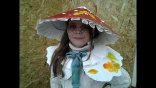 Костюм мухомора своими руками за час. Handmade costume for kid.(, 2015-10-26T02:08:40.000Z)