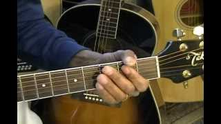 Sam Cooke A CHANGE IS GONNA COME Guitar Lesson How To Play On Guitar Key Bb