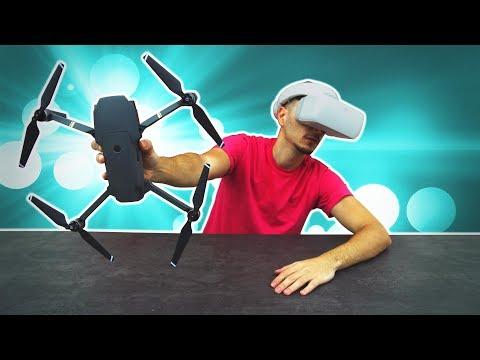 DJI Mavic Pro & Goggles Unboxing + Test Flight (Gift Guide)