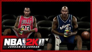 NBA 2K11: Jordan vs Jordan