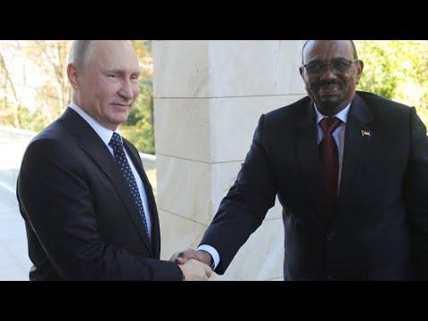Bashir in Russia: Sudanese President