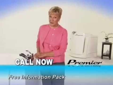 Premier Bathrooms Walk in Bath Commercial - YouTube