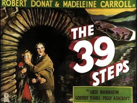 The 39 Steps (1935) Alfred Hitchcock, 720p