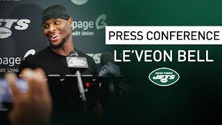 Le'Veon Bell Postgame Press Conference   New York Jets at Washington Redskins   NFL