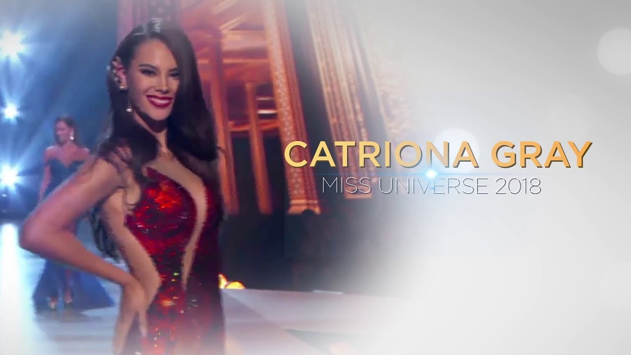 Miss Universe 2018 Catriona Gray Journey To The Crown