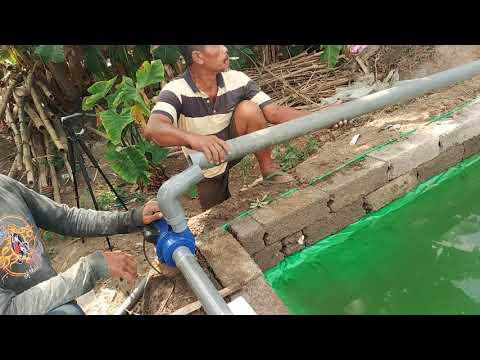 Pompa Air Modifikasi Untuk Kolam Ikan Gurame