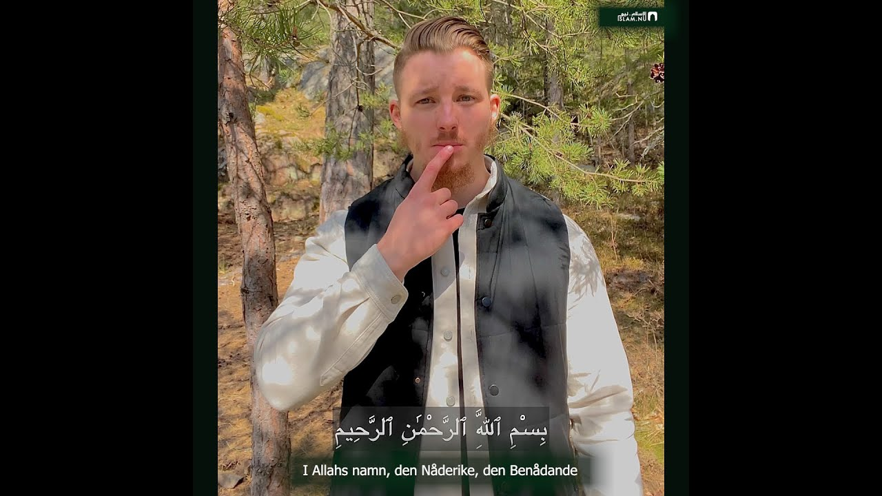 Surah al-Qadr med teckenspråk & svensk översättning