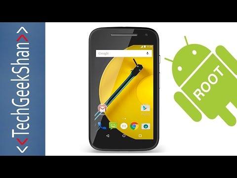 Root Moto E-2nd Gen - 3G | Android Lollipop