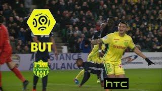 But DIEGO CARLOS (12') / FC Nantes - Olympique de Marseille (3-2) -  / 2016-17