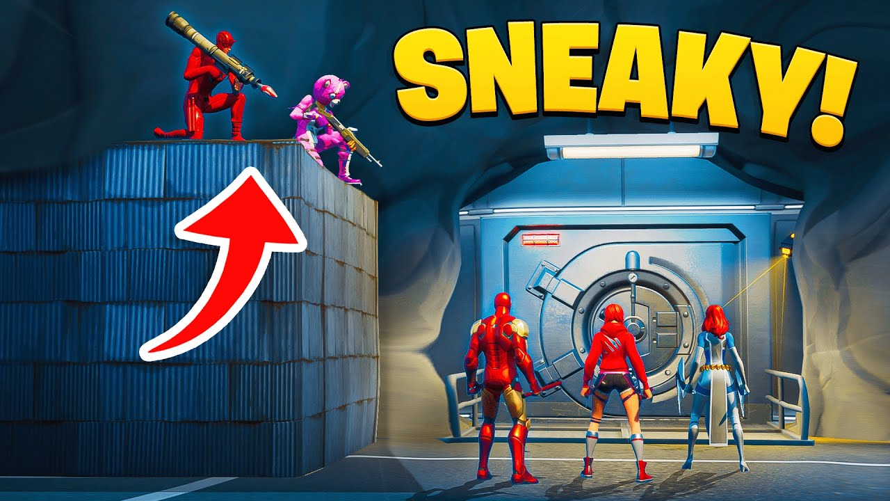 Fortnite Sneakiest Plays and Moments! #2