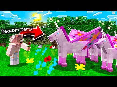 TAMING WILD UNICORNS WITH MY LITTLE SISTER!