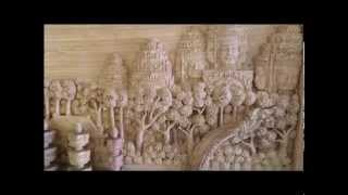 Wood Carving   Khmer Style