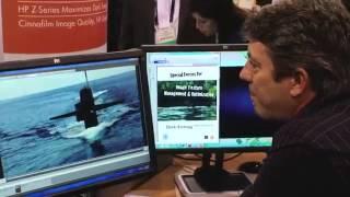 At NAB   HP DreamColor Display and Hurlbut Visuals thumbnail