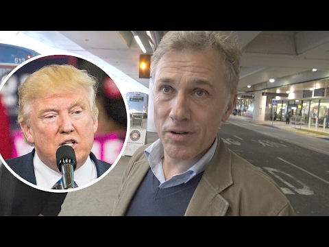 Christoph Waltz Has Harsh Words for President Trump  Splash  TV