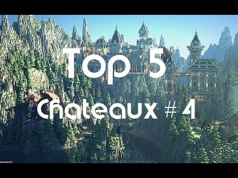minecraft top 5 des plus beaux ch teaux 4 youtube. Black Bedroom Furniture Sets. Home Design Ideas