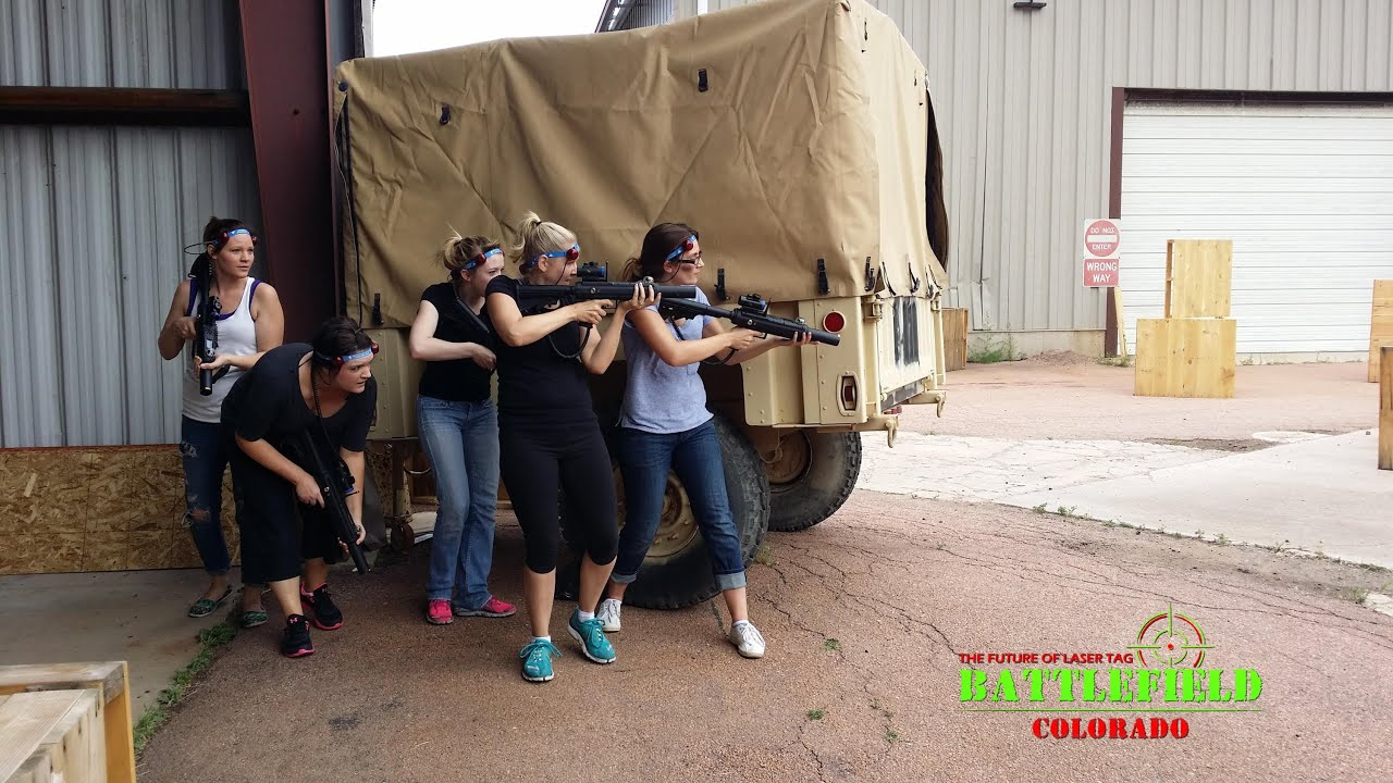 Battlefield Colorado Outdoor Laser Tag Colorados First And Only