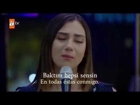 Huerfanas: Meral canta - Her şey sensin - letra en español/turco