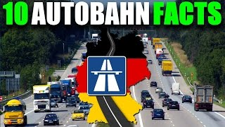 10 SURPRISING AUTOBAHN FACTS! 🚗 Speedways / Highways In Germany | VlogDave