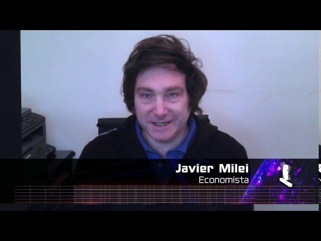 Javier Milei, economista - Ciudadanos 09 08 2020