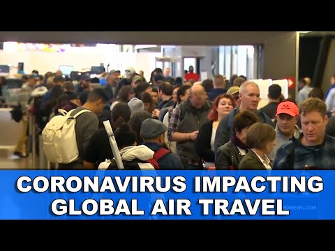 Coronavirus Impacting Global Air Travel