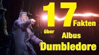 17 FAKTEN über Albus DUMBLEDORE