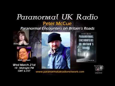 Paranormal UK Radio - British Author Peter McCue