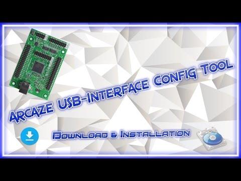 Arcaze USB-Interface Config Tool