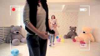 Приколы со съемки видео о больших мишек Тихон